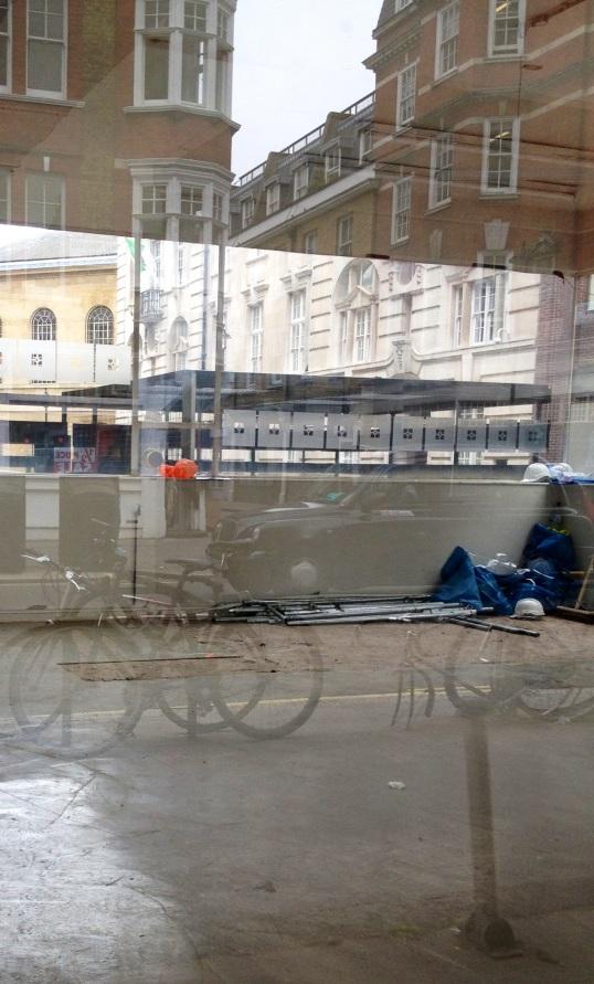 Empty Shop in Great Portland Street